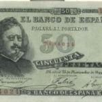 Billete-1899-50-pesetas-Francisco-de-Quevedo-grabado-por-Bartolome-Maura