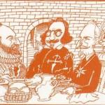 Dibujo-de-José-Luis-Cabañas-en-La-cocina-del-barroco-de-Lorenzo Díaz-Madrid-alianza-editorial-2003