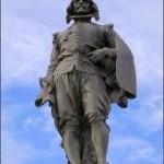 Estatua glorieta de Quevedo (Madrid) de Agustí Querol (1)