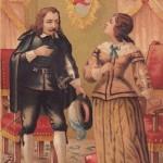 Quevedo en los percances de Quevedo de José Moreno Fuentes, Madrid, administración de la galería literaria, hacia 1850.