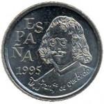 Quevedo, moneda 10 Ptas. 1995