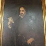 Quevedo, oleo de Cipriano Alvarez Machado