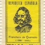 Sello de Quevedo, República Española